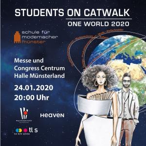 Modeschule Münster, nächste Modenschau am 24.01.2020