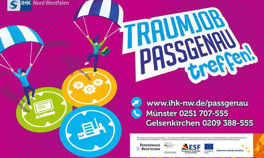 Passgenaue Besetzung IHK Münster hilft dabei